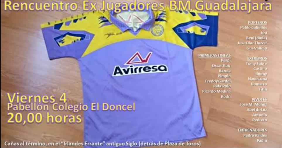 I Encuentro Ex Jugadores Club Bm. Guadalajara