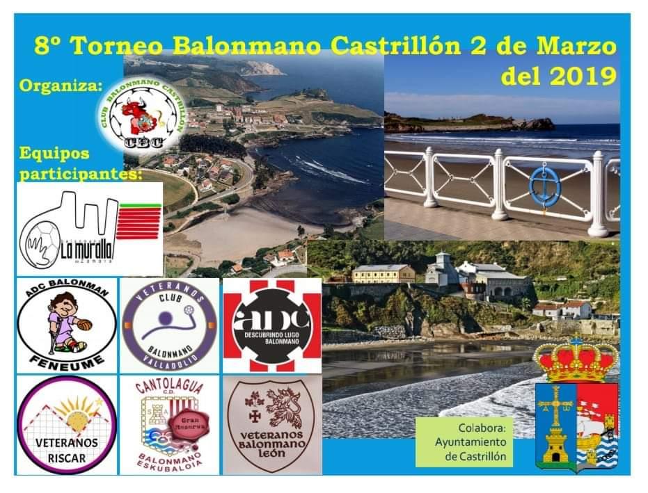 VIII Torneo de Balonmano Veterano de Castrillón