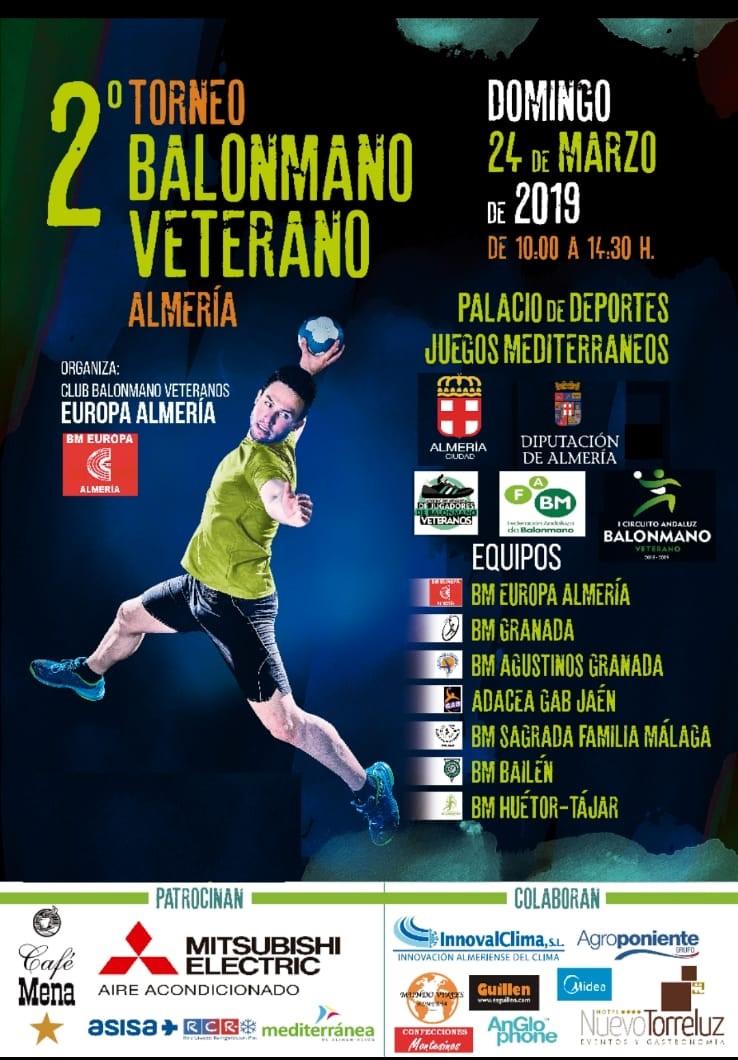 2º Torneo de Balonmano Veterano de Almería
