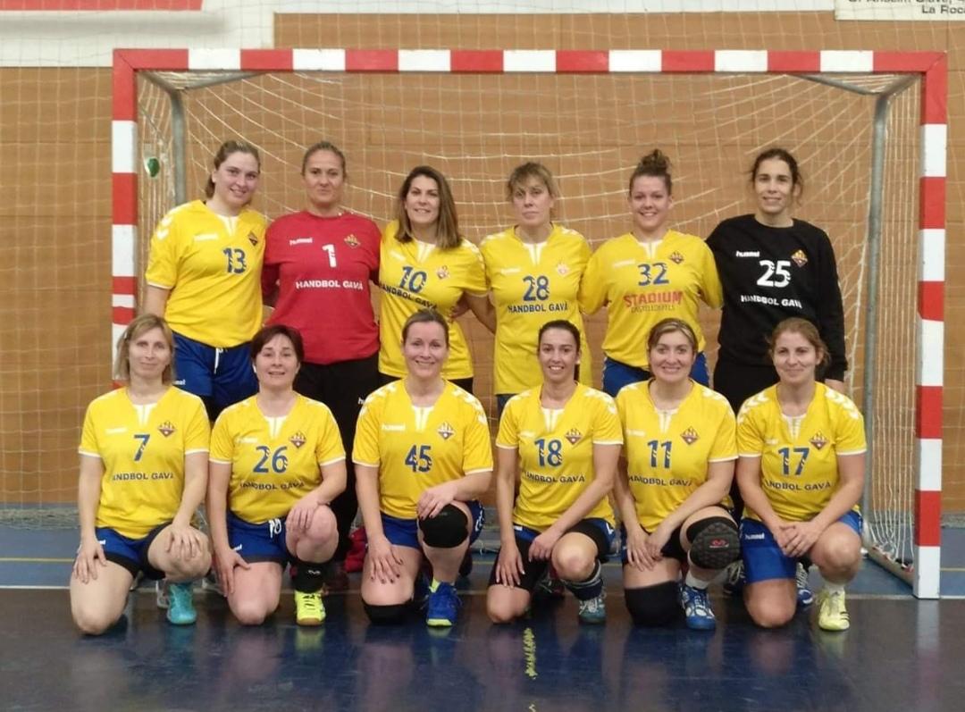 Màster Femení Club Handbol Gavá