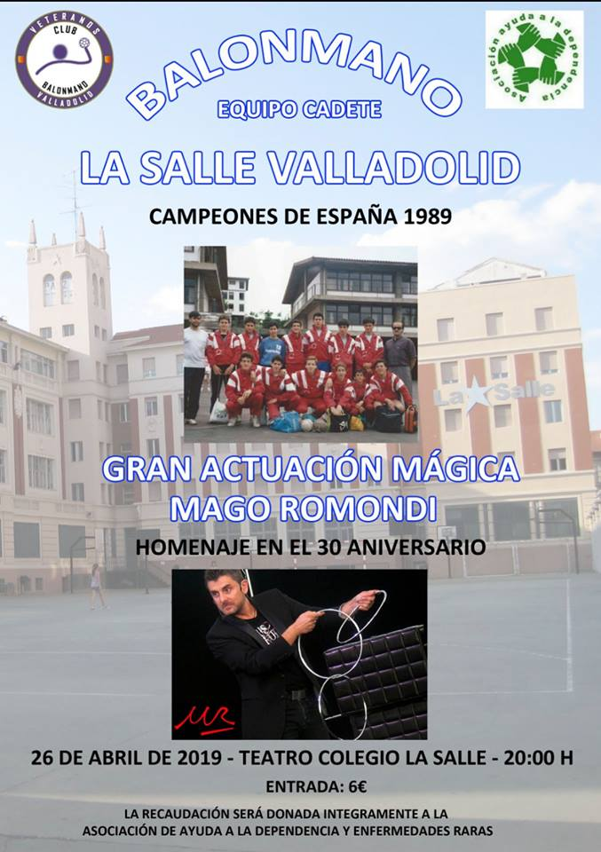 Gala Homenaje al equipo Cadete La Salle 1989