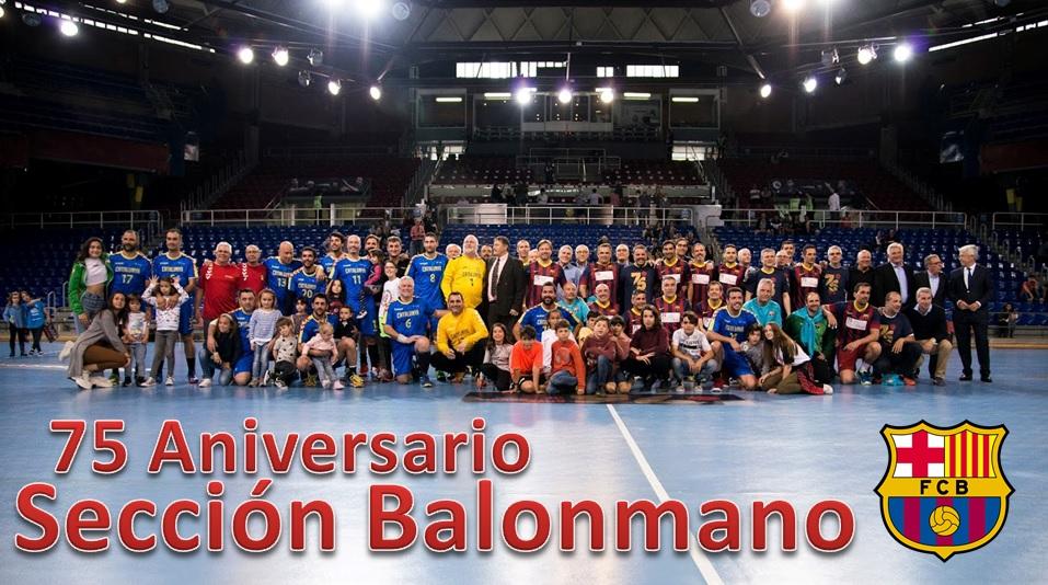 Partido Conmemorativo de la Sección de Balonmano del FC Barcelona