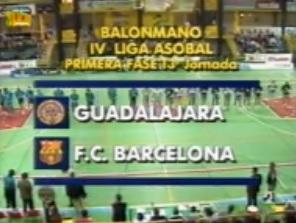 Partidos Históricos: BM GUADALAJARA vs FC BARCELONA (1993)