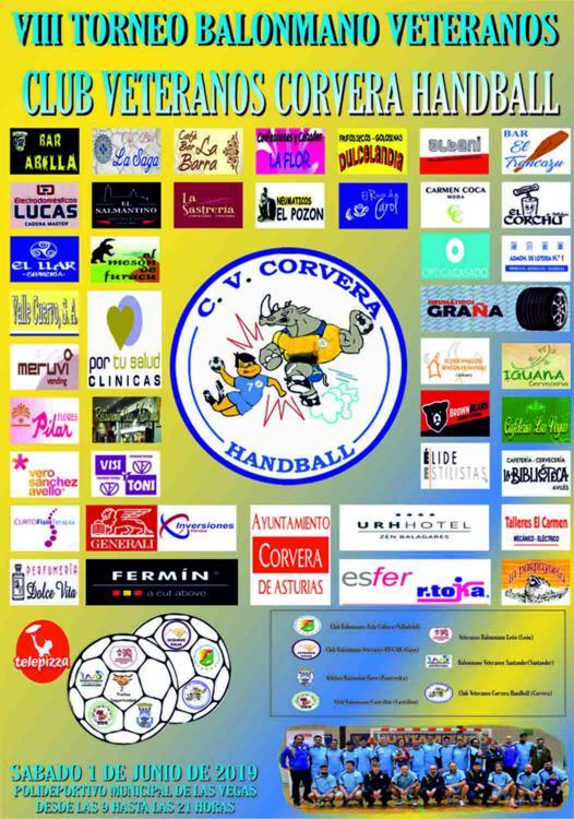 VIII Torneo Balonmano Veteranos Club Veteranos Corvera Handball