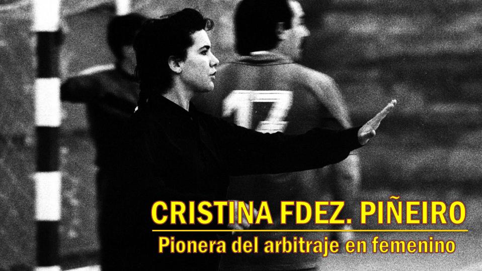 Homenajes merecidos… CRISTINA FDEZ. PIÑEIRO