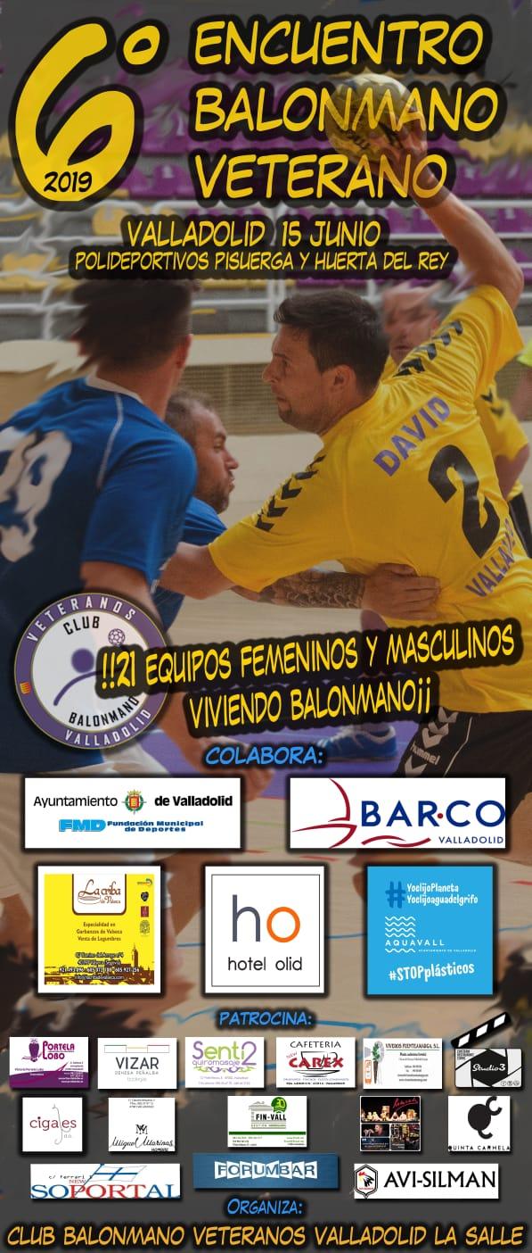 El 6º Encuentro de Balonmano Veterano de Valladolid ya vela armas