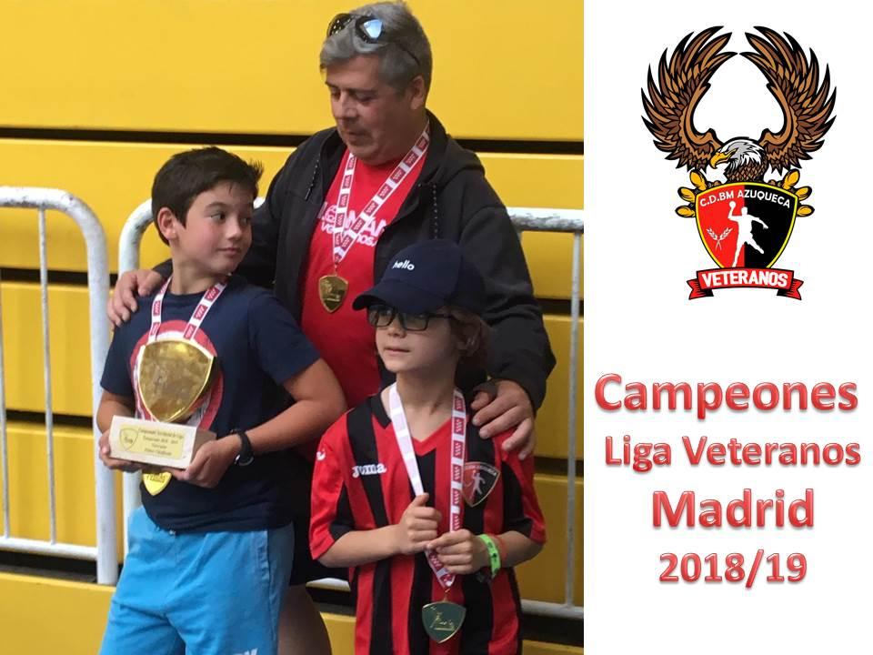 BM AZUQUECA: Campeón de Liga de Veteranos de Madrid