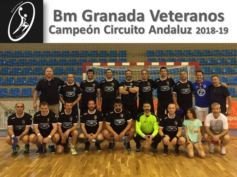 BM GRANADA VETERANOS: Campeón del Circuito Andaluz de Bm Veterano