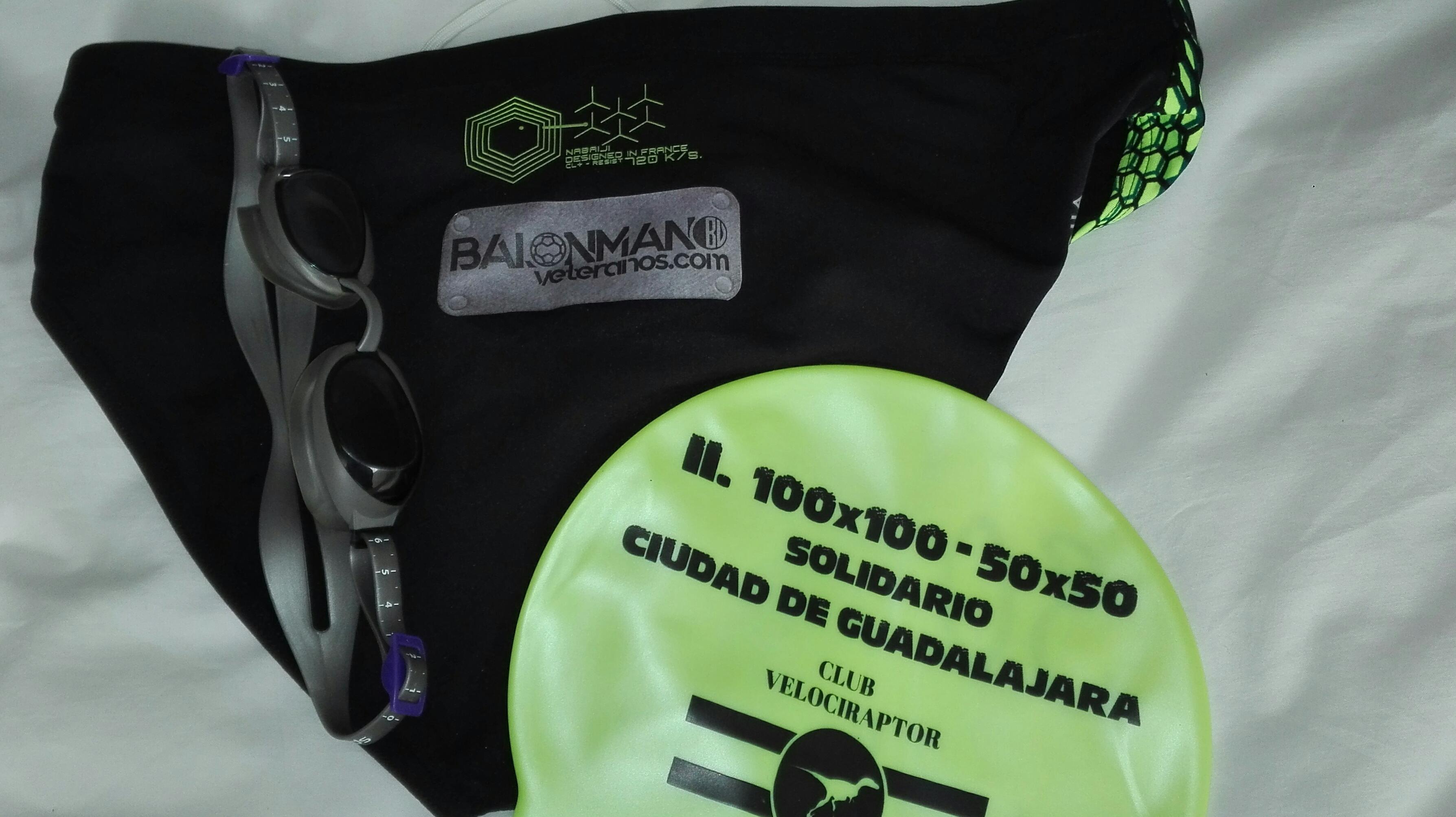 BalonmanoVeteranos.com en el II 50×50 de Natación Solidario en Guadalajara