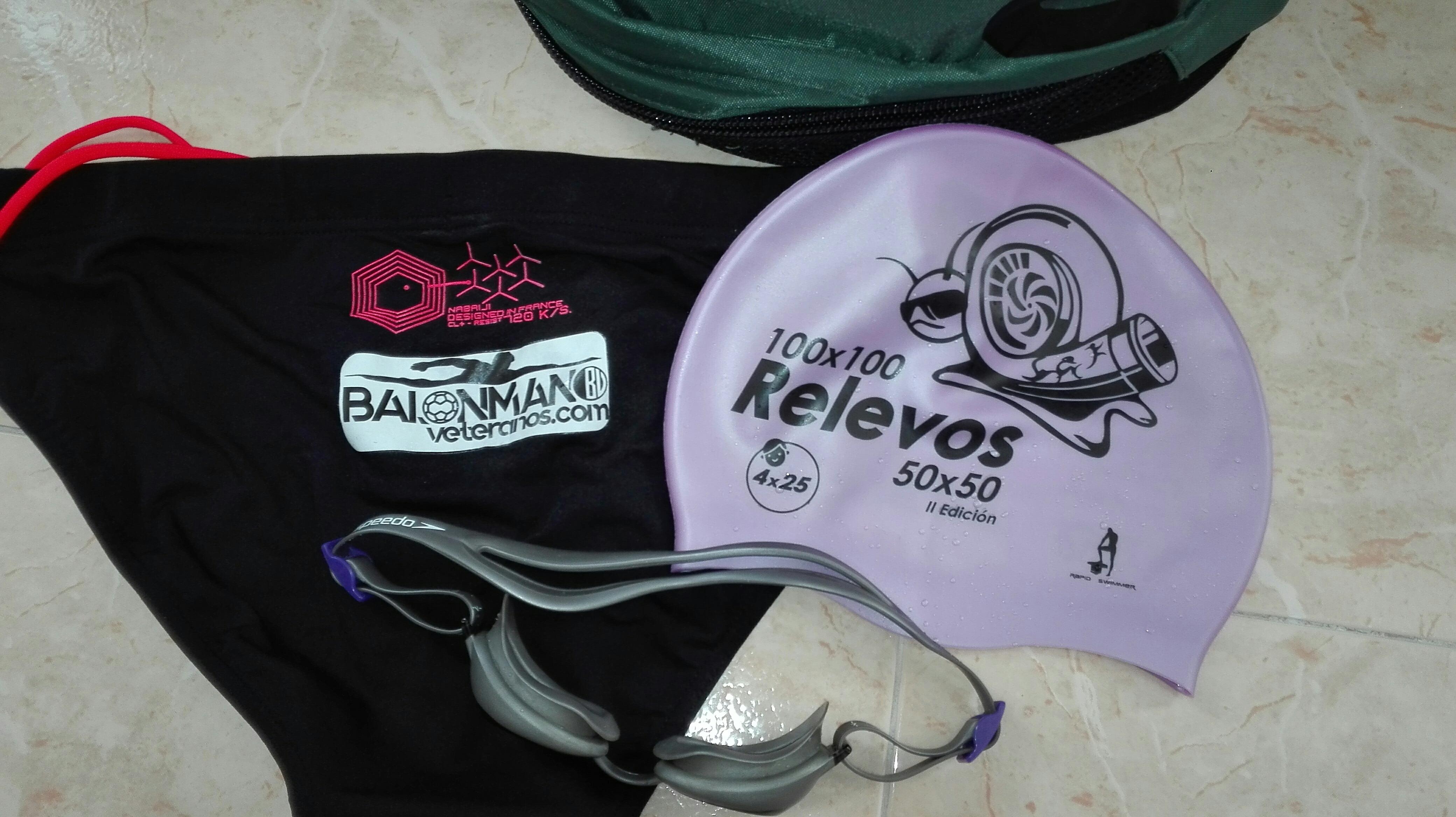 BalonmanoVeteranos.com en el II 50×50 de Natación de Azuqueca de Henares
